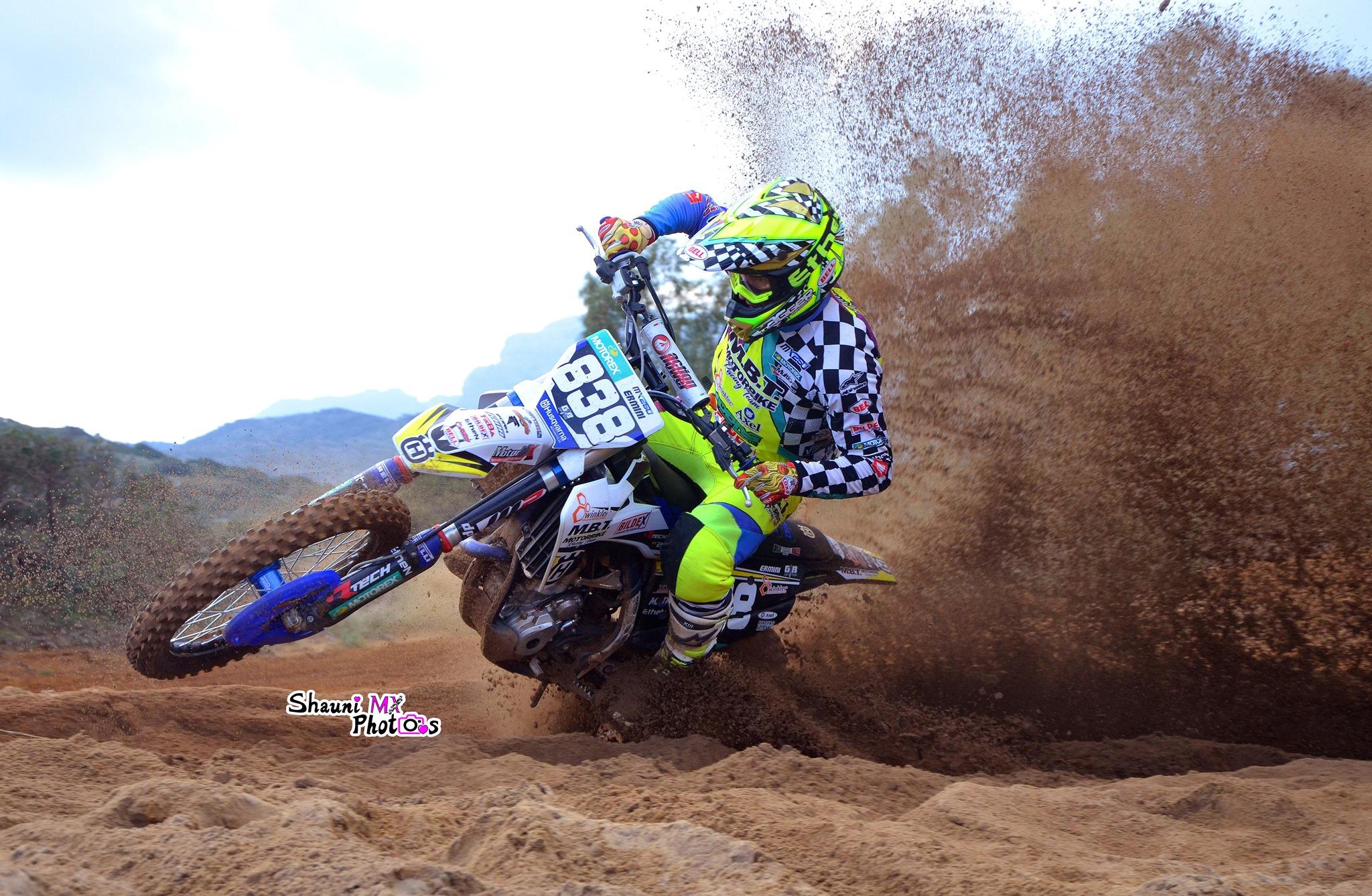 Moto motocross mx2 husqvarna mx italiano